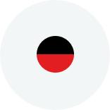 Цвет Верх - черный Низ - красный