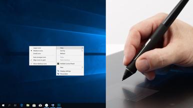 Настройте кнопки пера и клавиши ExpressKey в соответствии со своими предпочтениями