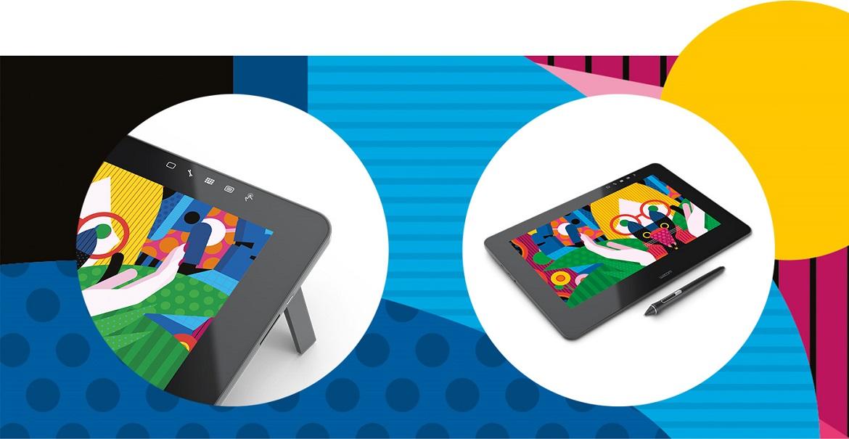 """Чувство связи с холстом Wacom Cintiq Pro 13 предлагает вам ЖК-экран с диагональю 13"""" с максимально четким HD-изображением (1920 x 1080 пикселей). Его широкая цветовая палитра (87% Adobe® RGB) гарантирует полное соответствие изображения на экране конечному результату."""